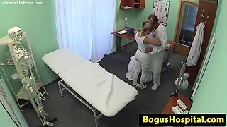 Bendable Teen Medical Students Threesome Fun