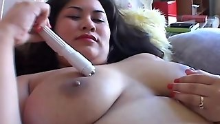 Chubby Asian With Big Tits
