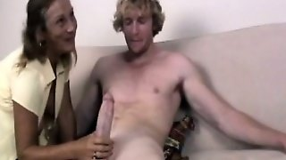 Mature Cougar, Brunette Threesome, Cfnm Teen, Horny Brunette, Cougar And Teen, Granny Guy, Sucks Mature, Mature And The Young