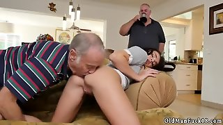 Amateur Anal Teen Tits Riding The Old Wood!