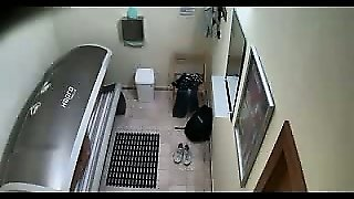 Real Hidden Cam In Solarium