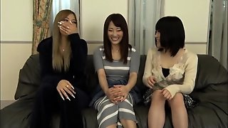 Amateur, Asian, Panties, Lesbian, Japanese, Threesome