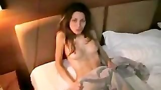 She Reluctantly Shows Her Hairy Pussy