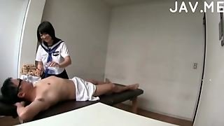 Japanese Teen Does Massage