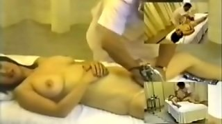 Big-Titted Women From Japan Massaged On A Voyeur Cam
