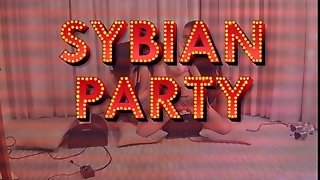 Big Tits Sybian Party