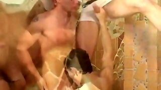Horny Gay Group Orgy Twink