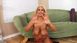 A Wicked Compilation Of Blondes Wit Cum All Over Their Faces