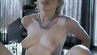 Retro French Porn With A Beautiful Hairy Pussy Blonde Babe