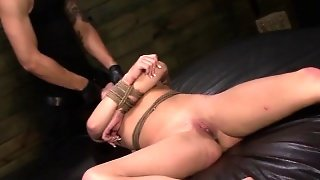 Slaves Mouth Cummed In