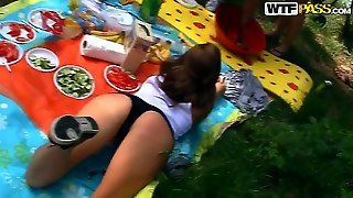 Hot Madelyn Is Not The Only Girl In This Video And She Is More Than Ready To Show Off Her Body On A Sunny Day While Spending Time With Her Friends And A Bf!