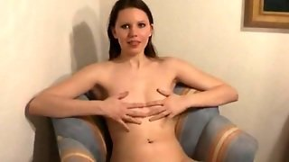 Hard Blow Job And Facial By Amateur Brunette