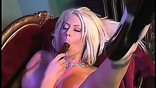 Curvaceous Blonde Lesbians Tanya Danielle And Sadie Sexton Have Fun With Sex Toys