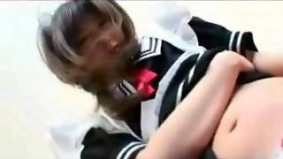 Sexy Japanese Maid Squirting