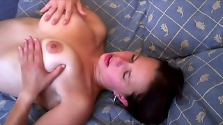 Busty French Anal Casting