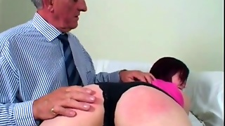 Super Sexy Girl Ass Spanked