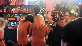 Naked European Strippers Are Bouncing At Exactly The Club S