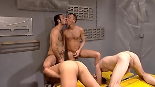 Gay, European, Anal, Kissing, Blowjob, Fetish, Orgy, Hd