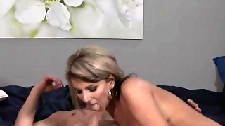 Dude Fucks Busty Blonde Mature