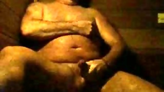Str8 Daddy Stroke In Sauna
