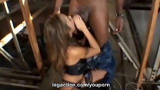 Legaction Kaylani Lei Interracial In Stockings