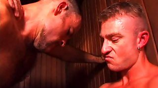 Threesome In The Sauna
