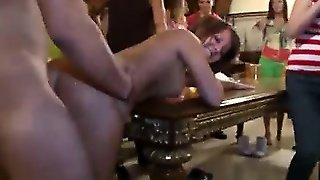 Cute College Chick Fucked At Party