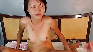 Petite Thai Teen With Big Ass Gets Doggy Style Fuc