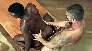 Black Hunk Riding Dick