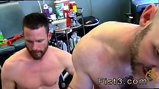 Gey Bear Fisting Gay Sex First Time Saline Injection For
