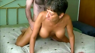 Hot Granny Fucking A Younger Man