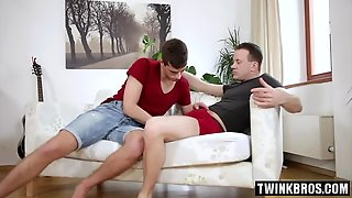 Big Cock Twinks Anal With Cumshot