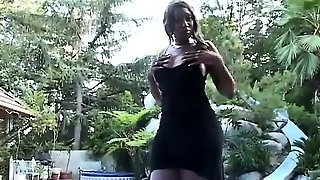Interracial Outdoor Blowjob And Fuck For White Slut In Hd