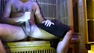 A Wank In Sauna Gym / Au Sauna