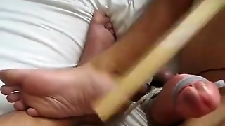 Let Me Feel The Pang And Tens. Cbt With Feet. Pls Comment :)