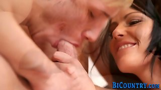Anally Fucked Bisex Dude
