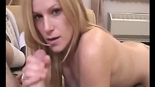 Cute Blonde Babe Dick Pleasing