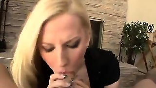 Pov Blowjob For Big Cock From Blonde Milf