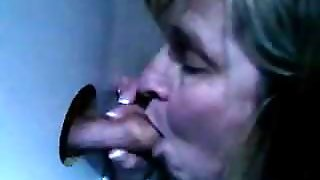Someone's Wife Sucking Dick At Hole