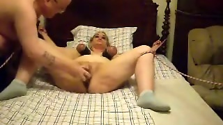 Homemade Video With Me Getting Punished By My Husband