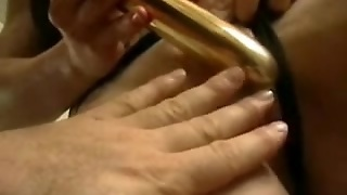 Massive Pierced Clitoris Oiled Up - My Hawt Piercings Pierced Model