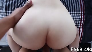 Family Banging With A Hot Teen