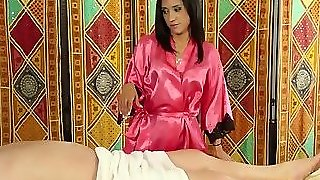 High Heeled Masseuse Bj