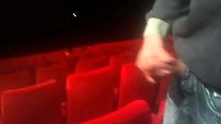 Flash Dick In Cinema