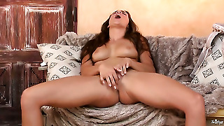 Teal Conrad Toys Her Vagina