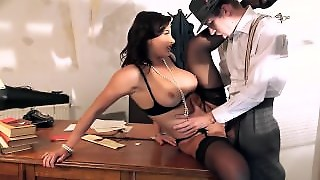 Brazzers - Anna Polina Sucks Some Cops Cock