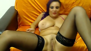 Webcam Hardcore: Busty Squirting