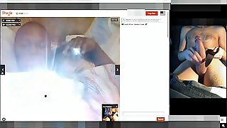 Castration Play On Webcam