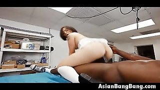 Asian Milcah Halili Interracial Anal