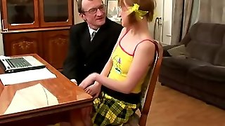 Tricky Old Teacher - Teacher Fucks Schoolgirl